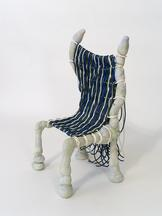Electric Wave Chair, 2020 Steel, concrete, pigment...