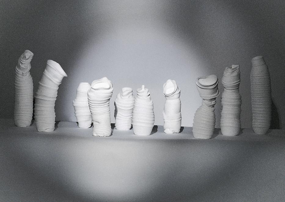 Styrene, 2002-2003 Polystyrene Lampshade: diameter...
