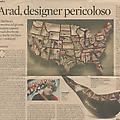 Ron Arad, Designer Pericoloso