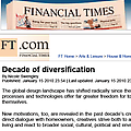 Decade of Diversification