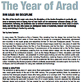 The Year of Arad