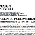 Designing Modern Britain - Exhibitions