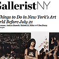 11 Things to Do in New York's Art World Before Jul...