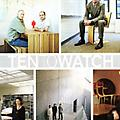 Ten to Watch - Press