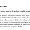 The Whitney Biennial Invites Architecture In