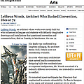 Lebbeus Woods, Architect Who Bucked Convention, Di...