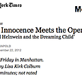 When Innocence Meets the Opera