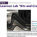 "Joris Laarman Lab ""Bits and Crafts"" - Press"