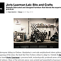 Joris Laarman Lab: Bits and Crafts - Press