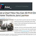 Need a Chair? Now You Can 3D Print One at Home Tha...