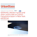 Opening: artists in glass and other media take on...