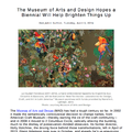 The Museum of Arts and Design Hopes the Biennial W...