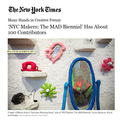 'NYC Makers: The MAD Biennial' Has About 100 C...