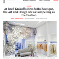 At Reed Krakoff's New SoHo Boutique, the Art and...