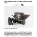 New Work by Wendell Castle at Friedman Benda