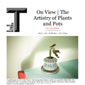 On View: The Artistry of Plants and Pots - Press