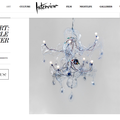 Objet d'Art: Inflatable Chandelier - Press