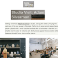Studio Visit: Adam Silverman - Press
