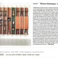 "Exhibit ""Ettore Sottsass: 1955-1969"" - Press"
