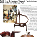 With New Technology Wendell Castle Takes a Look at...