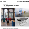 The Metal Chair, Elevated - Press