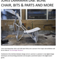 Joris Laarman Lab: Bone Chair, Bits & Parts and Mo...
