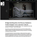 Bridge-Building Bots And Rococo Radiators: Inside...