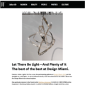 Let There Be Light—And Plenty of It - Press