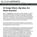 At Design Miami, Big Ideas Are Made Beautiful