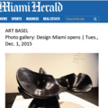 Photo Gallery: Design Miami Opens - Press