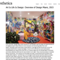 Art Is Life Is Design: Overview of Design Miami, 2...