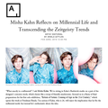 Misha Kahn Reflects on Millennial Life and Transce...