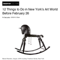 12 Things To Do in New York's Art World Before Feb...