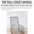 Minimalist Master: Nendo Studio's Oki Sato - Press