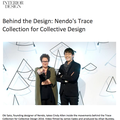 Behind the Design: Nendo's Trace Collection for Co...
