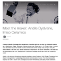 Meet the maker: Andile Dyalvane, Imiso Ceramics -...