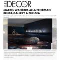 Marcel Wanders alla Friedman Benda Gallery a Chels...