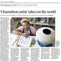 'Chameleon artist' takes on the world