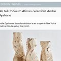 We talk to South African ceramicist Andile Dyalvan...