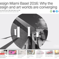 Design Miami Basel 2016: Why the design and art wo...