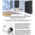 The Philadelphia Museum of Art Highlights Three Ri...
