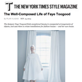 The Well-Composed Life of Faye Toogood - Press