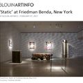 'Static' at Friedman Benda, New York