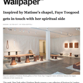 Inspired by Matisse's chapel, Faye Toogood gets in...