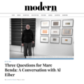 Three Questions for Marc Benda: A Conversation wit...