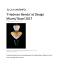 Friedman Benda at Design Miami/ Basel 2017