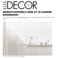 Nendo's Invisible Lines at Jil Sander Showroom -...