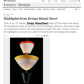 Highlights from Design Miami/Basel
