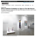 Ettore Sottsass Exhibition to Open at The Met Breu...