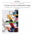 Ettore Sottsass's Impertinent Genius - Press
